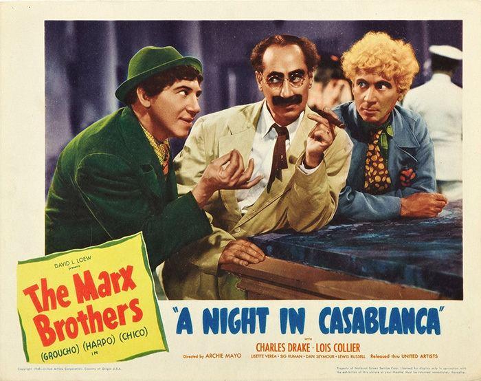 A Night in Casablanca REVIEW A Night in Casablanca 1946 wwwjaredmobarakcom
