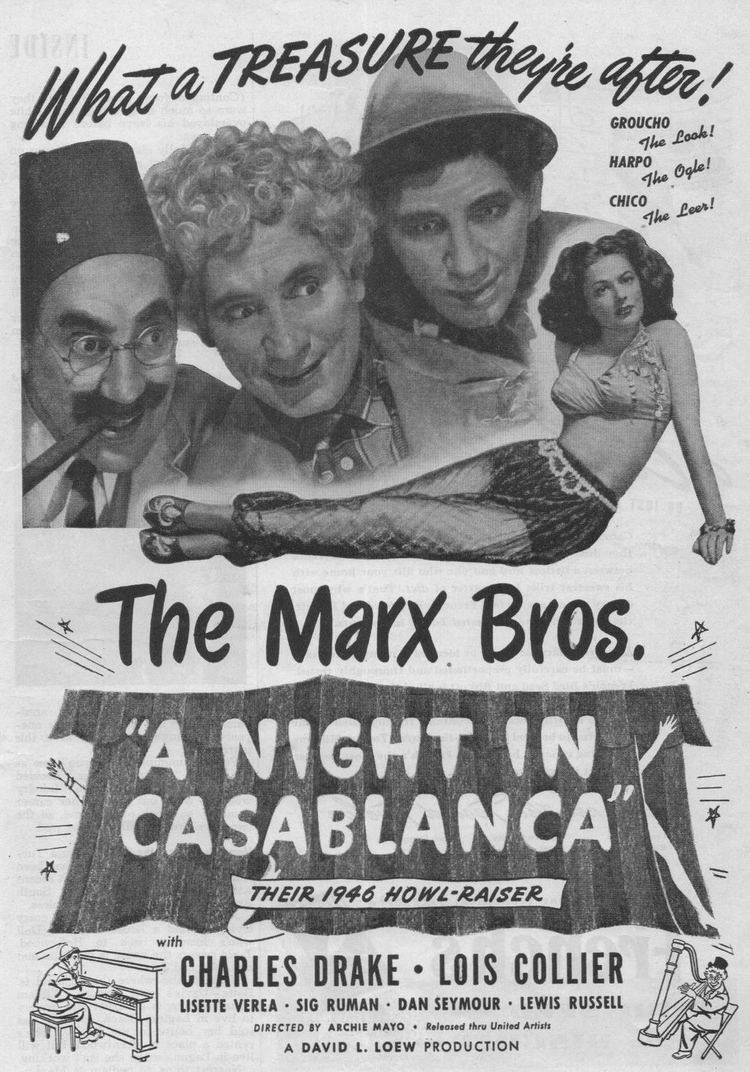 A Night in Casablanca World Cinema Paradise DVD Review A Night in Casablanca 1946