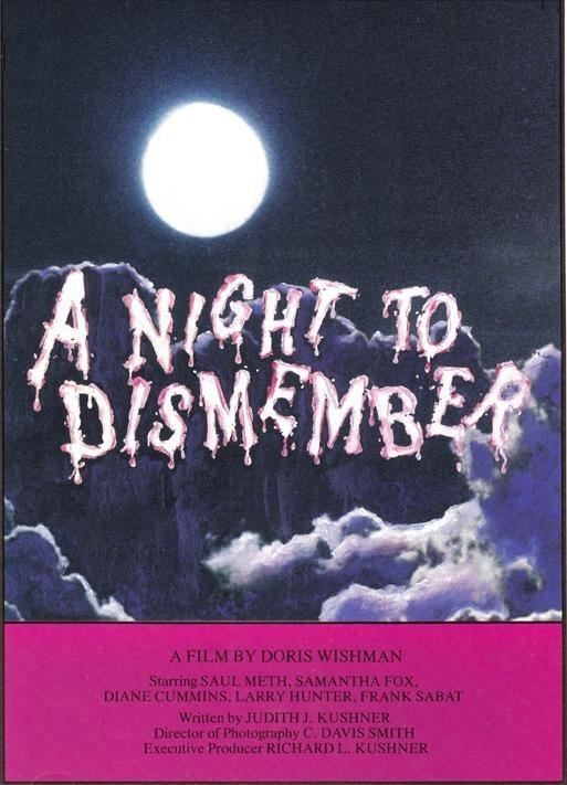 A Night to Dismember A Night to Dismember Classic Horror Film Board