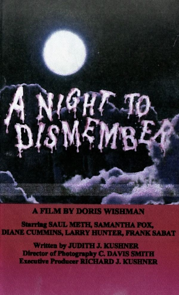A Night to Dismember NIGHT TO DISMEMBER A Alamo 100