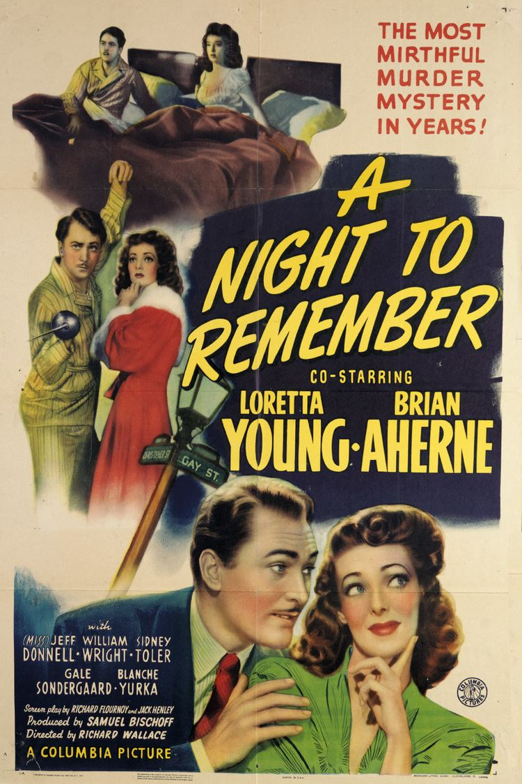 A Night to Remember (1942 film) wwwgstaticcomtvthumbmovieposters40052p40052