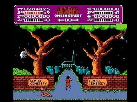 A Nightmare on Elm Street (video game) A Nightmare On Elm Street Nes Full Playthrough YouTube