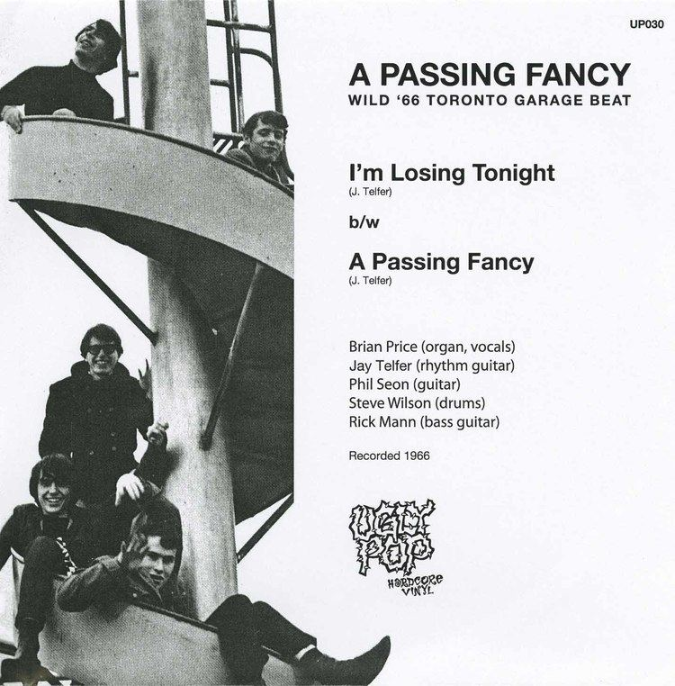 A Passing Fancy A Passing Fancy I39m Losing Tonight bw A Passing Fancy reissue
