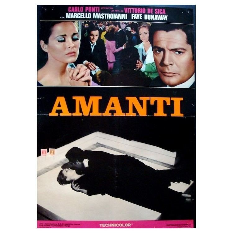 A Place for Lovers A Place For Lovers Amanti Italian movie poster illustraction Gallery