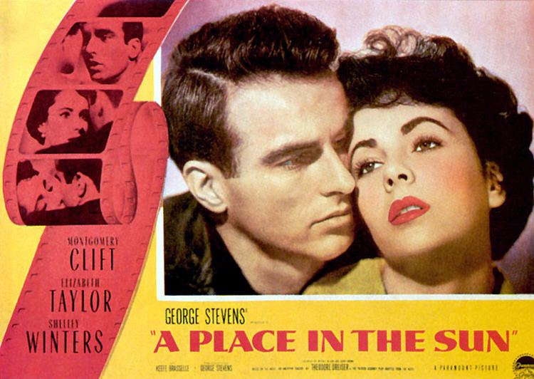 A Place in the Sun (film) Classic 50s Movie A Place in the Sun Go Into The Story
