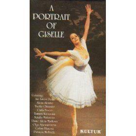 A Portrait of Giselle Amazoncom A Portrait of Giselle VHS Galina Ulanova Carla