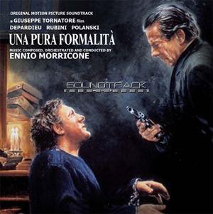 A Pure Formality Una Pura Formalita A Pure Formality Morricone CD Soundtrack