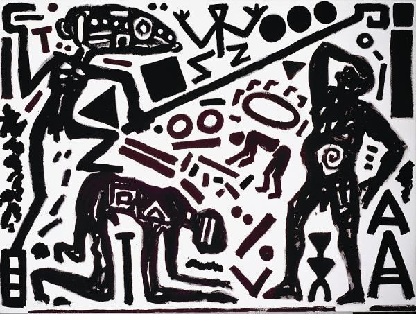 A. R. Penck Ar Penck at C4 Contemporary Artist Profile amp Biography