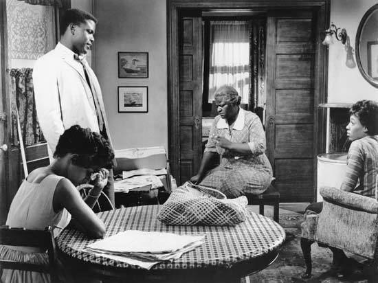 A Raisin in the Sun (1961 film) A Raisin in the Sun film by Petrie 1961 Britannicacom
