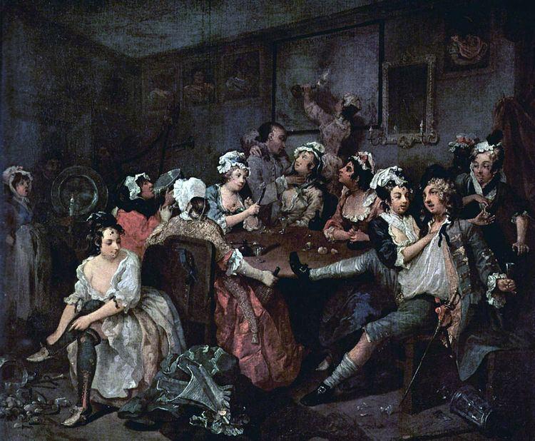 A Rake's Progress, 3: The Tavern Scene
