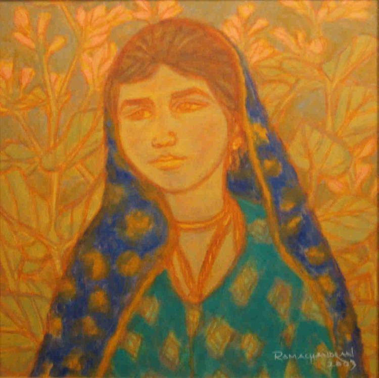 A. Ramachandran Unboxed Writers ARamachandran Oil on Canvas 1818