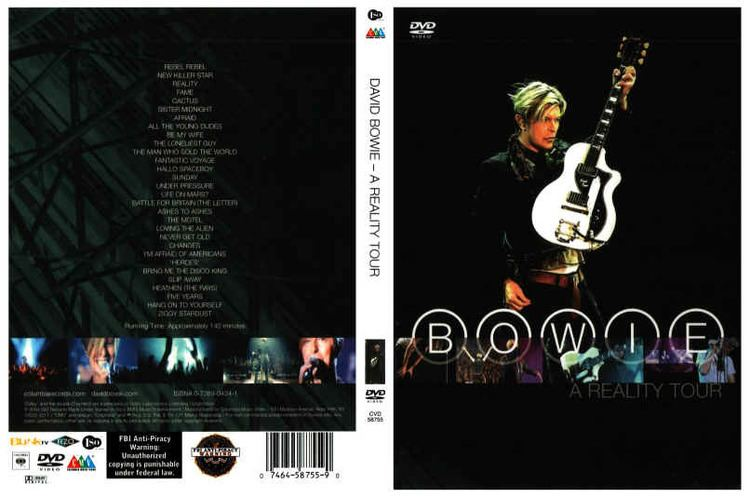 A Reality Tour (film) A Reality Tour DVD