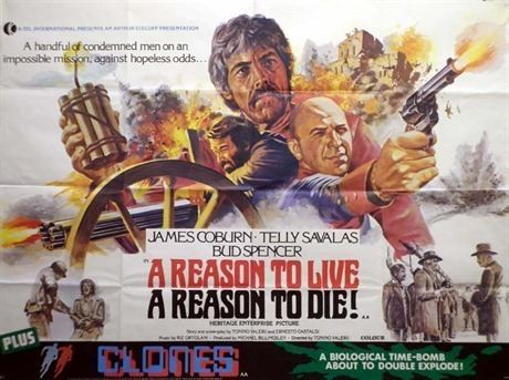 A Reason to Live, a Reason to Die A Reason To Live a Reason To Die Poster UK Quad 1972 Chantrell