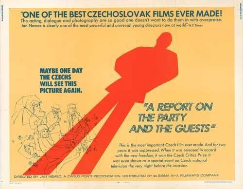 A Report on the Party and the Guests A Report on the Party and the Guests andyou Brattle Theatre Film