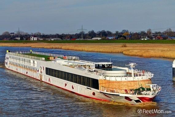 A-Rosa Flora AROSA FLORA Cruise Liner IMO
