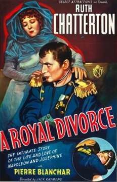 A Royal Divorce (1938 film) movie poster