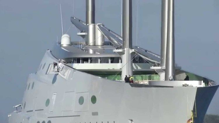 A (sailing yacht) World Largest Sailing Yacht quotAquot Superyacht grande yate grand voilier