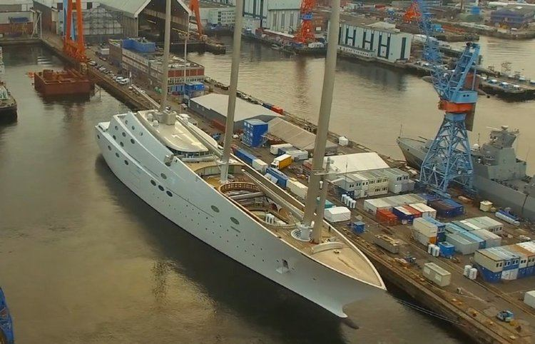 A (sailing yacht) Andrey Melnichenko and his Crazy US 400 Million Sailing Yacht A
