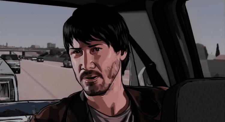 A Scanner Darkly (film) movie scenes Alternate Best Actor 2006 Keanu Reeves in A Scanner Darkly