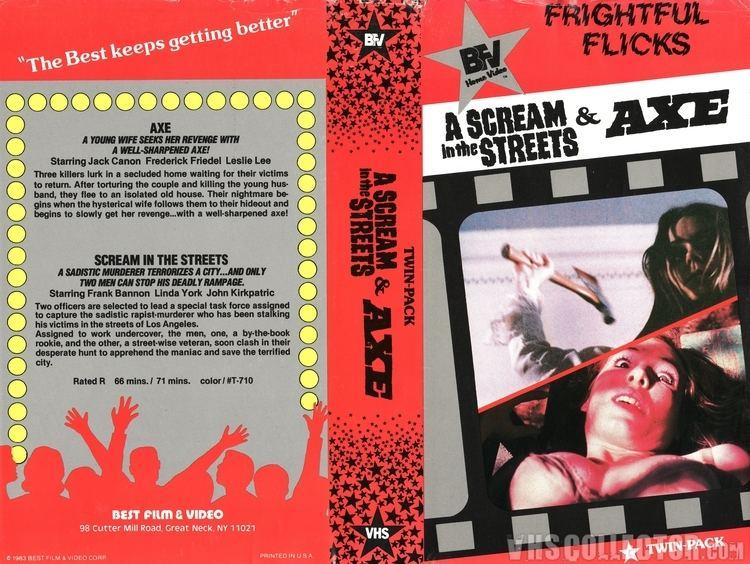 A Scream in the Streets A Scream in the Streets Axe VHSCollectorcom Your Analog