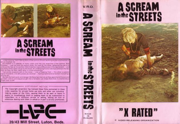 A Scream in the Streets A Scream in the StreetsPress Kit The Deuce