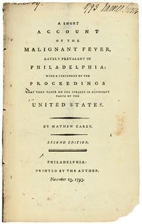 A Short Account of the Malignant Fever httpsuploadwikimediaorgwikipediacommons44