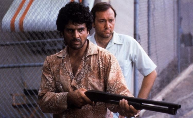 A Show of Force Kevin and Erik Estrada 1990 A Show of Force Kevin Spacey