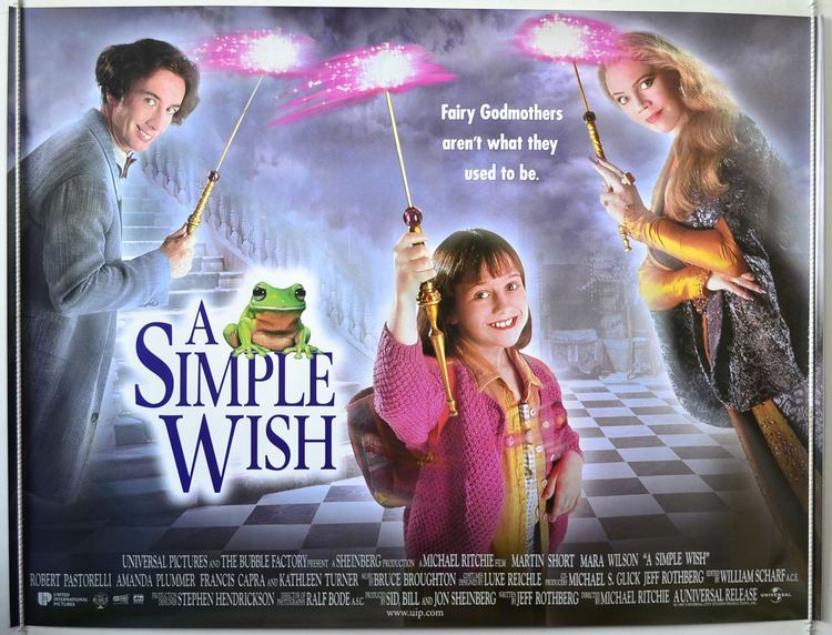 A Simple Wish A Simple Wish Original Cinema Movie Poster From pastposterscom