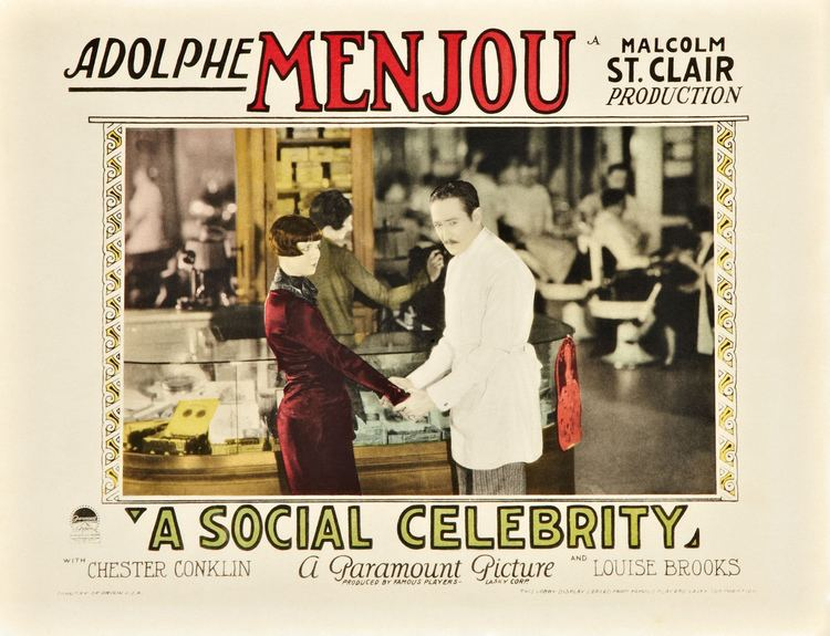 A Social Celebrity A Social Celebrity