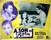 A Son Is Born movie poster