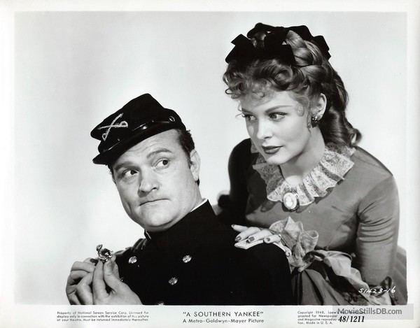 A Southern Yankee Southern Yankee Promo shot of Red Skelton Arlene Dahl