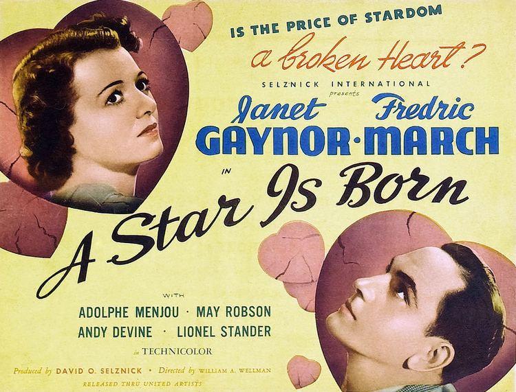 A Star Is Born (1937 film) A Star is Born 1937