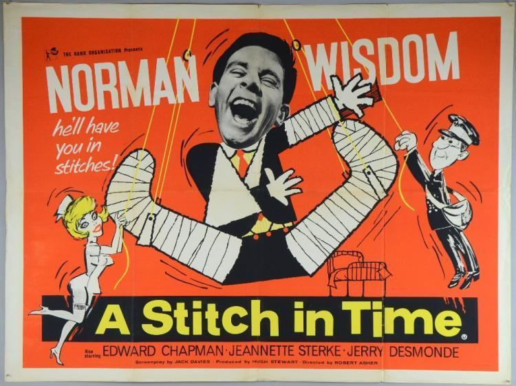 A Stitch in Time (film) A Stitch In Time 1963 British Quad film poster an Englis