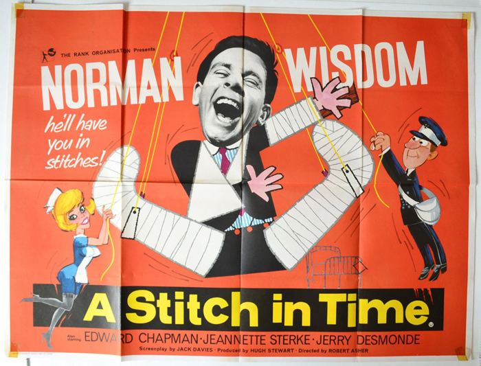 A Stitch in Time (film) A Stitch In Time Original Cinema Movie Poster From pastposterscom