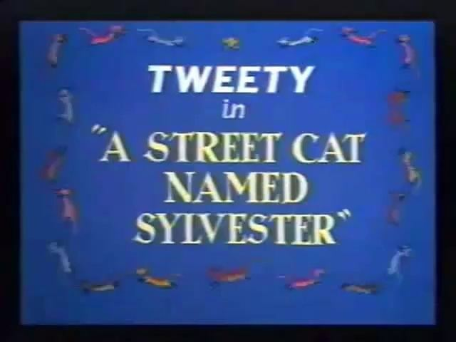 A Street Cat Named Sylvester Looney Toons Tweety And Sylvester A Street Cat Named Sylvester