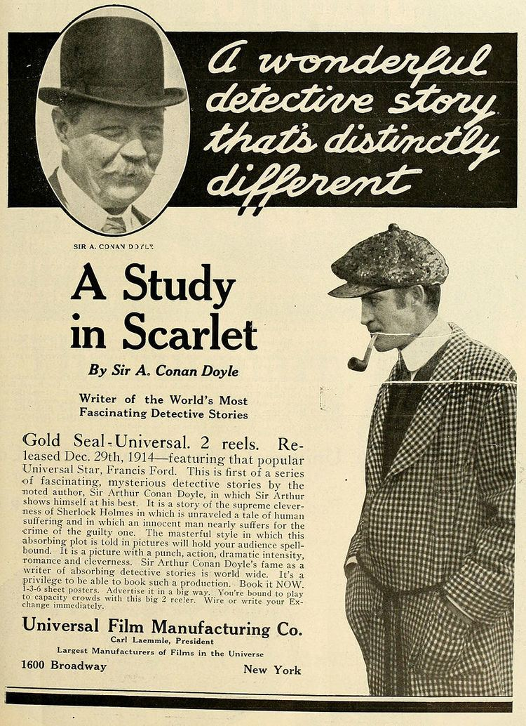 A Study in Scarlet (1914 American film)