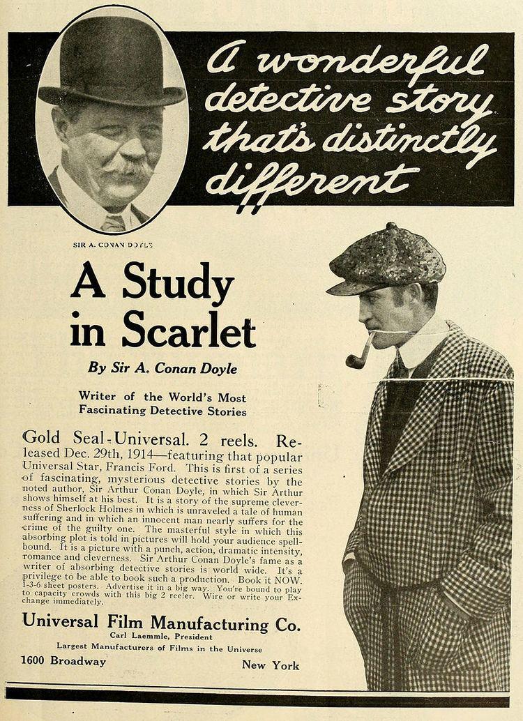 A Study in Scarlet (1914 American film)