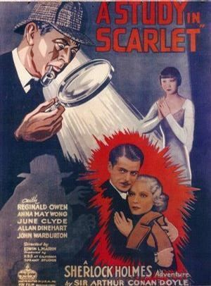 A Study in Scarlet (1933 film) A Study in Scarlet 1933 with Reginald Owen and Anna May Wong