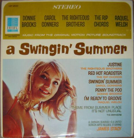 A Swingin' Summer Various A Swingin Summer Music From The Original Motion Picture