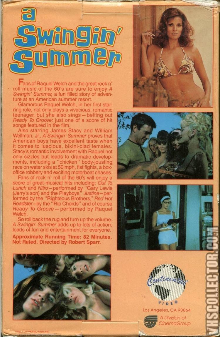 A Swingin' Summer A Swingin Summer VHSCollectorcom Your Analog Videotape Archive