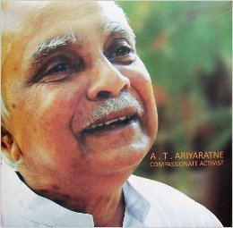 A. T. Ariyaratne Dr AT Ariyaratne Sarvodaya USA