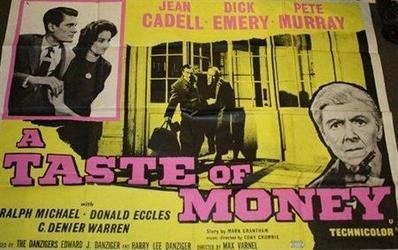 A Taste of Money movie poster