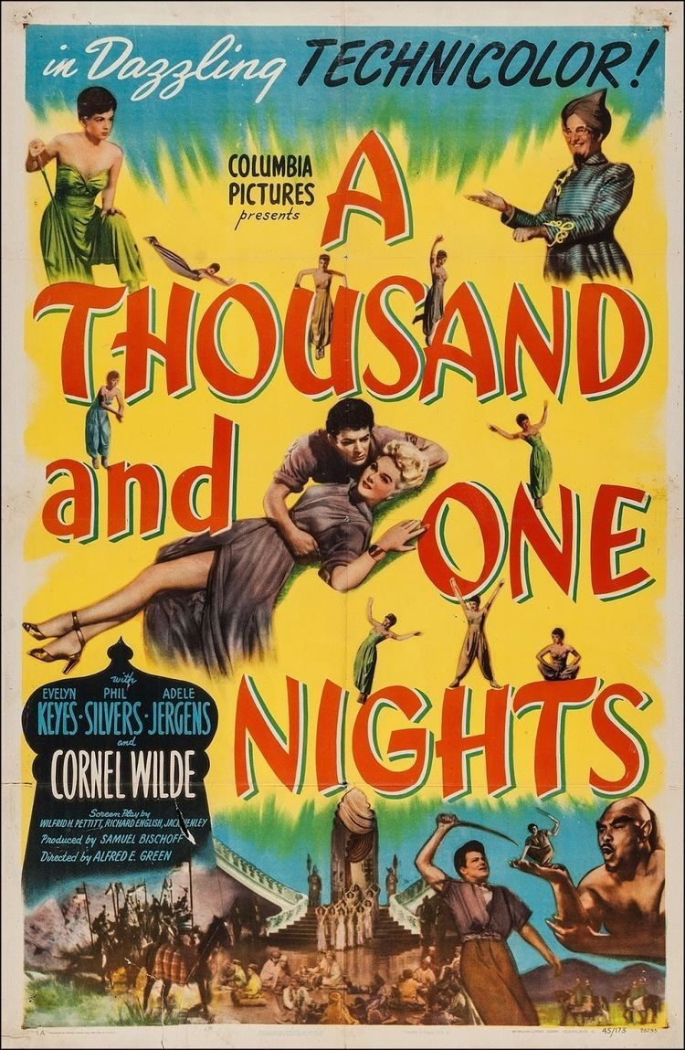 Evelyn Keyes is magic in A Thousand and One Nights 1945