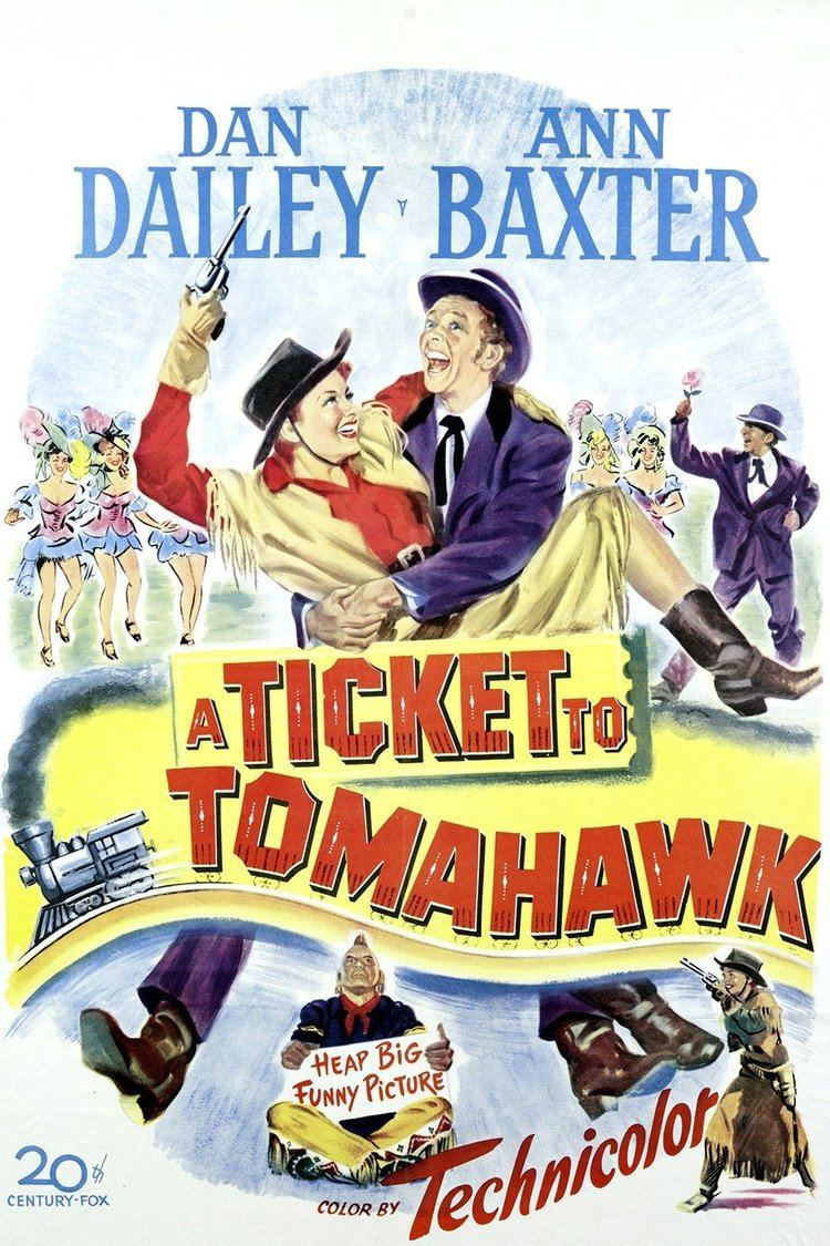 A Ticket to Tomahawk wwwgstaticcomtvthumbmovieposters9170p9170p