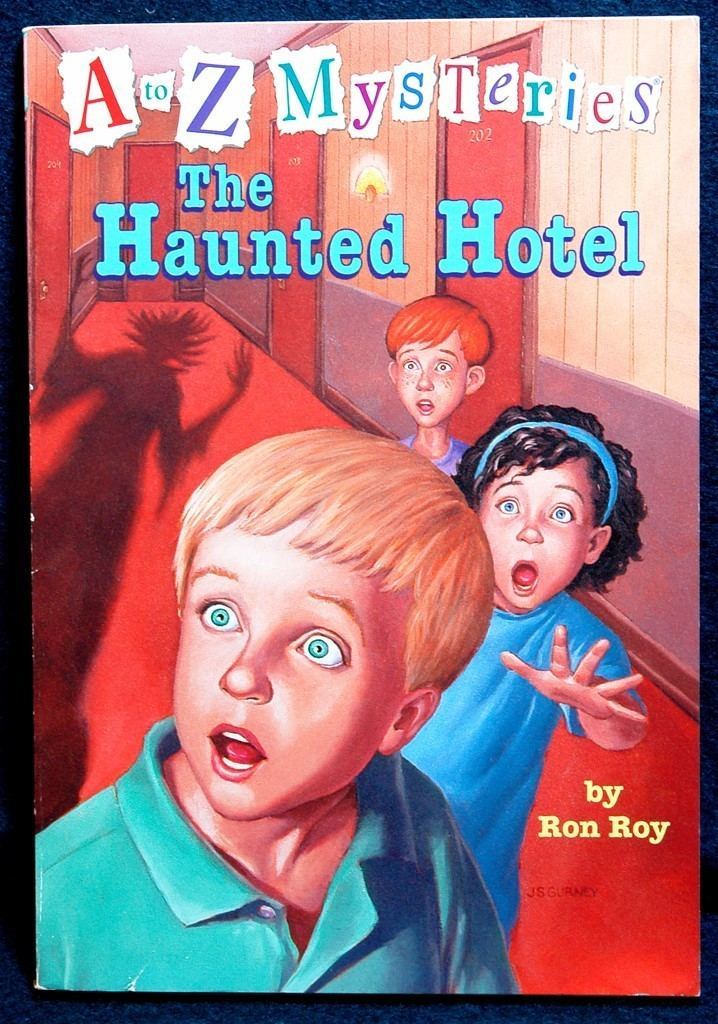 A to Z Mysteries a to z mysteries to Z Mysteries The Haunted Hotel by Ron Roy A
