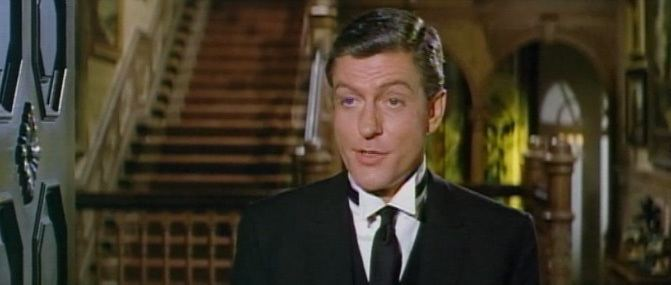 A Touch of Larceny movie scenes Fitzwilliam Dick Van Dyke is a butler one of a long line of butlers His father was butler to the Woodworth family and his father before him