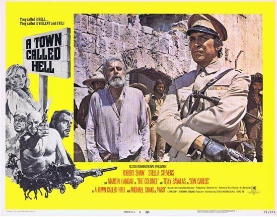A Town Called Bastard A TOWN CALLED HELL 1971 Robert Shaw Lobby card 5