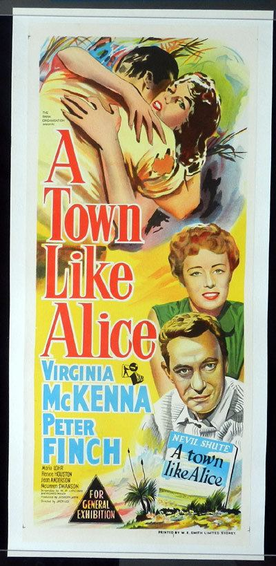A Town Like Alice (1956 film) A TOWN LIKE ALICE Daybill Movie poster 1956 Linen Backed