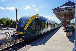 A-train (Denton County Transportation Authority) httpsuploadwikimediaorgwikipediacommonsthu