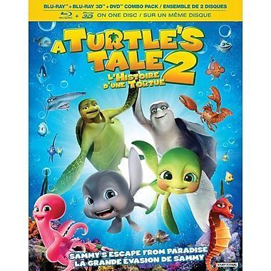 A Turtle's Tale 2: Sammy's Escape from Paradise A Turtle39s Tale 2 Sammy39s Escape From Paradise 3D BluRay Blu